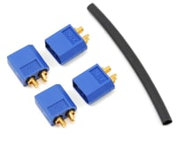 """ProTek RC 3.5mm """"TruCurrent"""" XT60 Polarized Device Connectors (4 Male)"""
