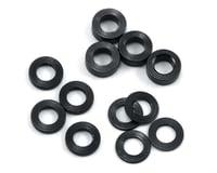 ProTek RC Aluminum Ball Stud Washer Set (Black) (12) (0.5mm, 1.0mm & 2.0mm) (Kyosho Ultima RB5)