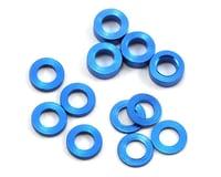ProTek RC Aluminum Ball Stud Washer Set (Blue) (12) (0.5mm, 1.0mm & 2.0mm) (Kyosho Ultima RB5)