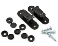 Random Heli 9.0mm Skid Clamp Assembly (Black)