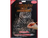 Royal Brush Manufacturing Copper Foil Tiger & Cubs