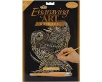 Royal Brush Manufacturing Gold Foil Owls