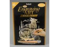 Royal Brush Manufacturing Gold Foil Wolves