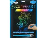 Royal Brush Manufacturing Rainbow Engraving Art Fairy Princess
