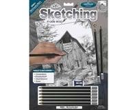 Royal Brush Manufacturing Sketching Old Country Barn