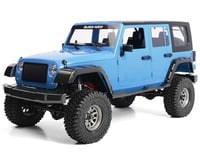 RC4WD Cross Country 1/10 RTR Off-Road Crawler w/Black Rock Four Door Body (Blue)