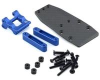R-Design Traxxas 2WD Wheelie Bar Mount (Blue)