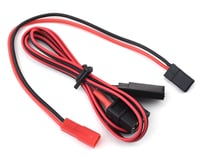 Ruddog Receiver/Transmitter Charge Lead w/XT60 & JR to Female JST Adapter