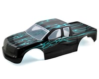 Redcat Rampage MT/XT Pre-Painted Monster Truck Body (Black/Blue)