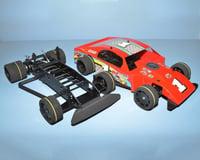 RJ Speed 1/10 Spec Modified Oval Kit