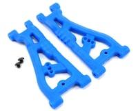 RPM Associated Team ProLite 4x4 Front A-Arm (Blue) (2)