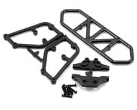 RPM Rear Bumper (Black) (Traxxas Slash 4x4)
