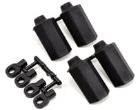 RPM Shock Shaft Guards (Black) (4) (Team Durango DEX210F)