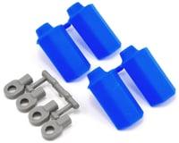 RPM Shock Shaft Guards (Blue) (4) (Team Associated RC10 GT2)