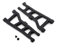 RPM Arrma Big Rock 3S BLX Typhon 4x4 Front Suspension Arm Set (Black)