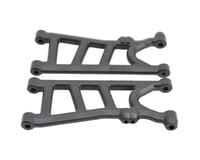 RPM Arrma Big Rock 3S BLX Typhon 4x4 Rear Suspension Arm Set (Black)