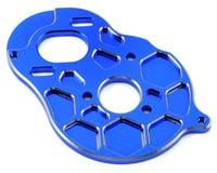 "Schelle Racing B5M ""4 Gear"" Vented Motor Plate (Blue)"