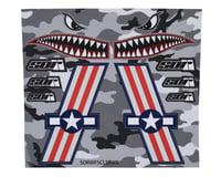 SOR Graphics Warfighter Decal Kit (Red, White & Blue Gloss) (Medium)