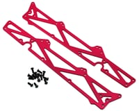ST Racing Concepts Arrma Fury Aluminum TVP Chassis Side Plates w/Hardware (2) (Red)