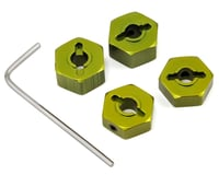 ST Racing Concepts 14mm Aluminum Wheel Hex (Green) (4) (Traxxas Stampede)