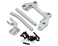 ST Racing Concepts Axial Wraith Aluminum Off Axle Servo Mount & Panhard Kit (Silver)