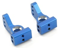 ST Racing Concepts Losi XXX-SCT Aluminum VLA Rear Hub Carriers (Blue) (2) (0 Degree)