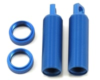 ST Racing Concepts ALUMINUM THREADED FRONT SHOCK BODIES (2) FOR Losi XXX-SCT (BLUE)