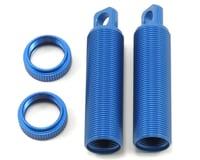 ST Racing Concepts XXX-SCT Aluminum Threaded Rear Shock Bodies (Blue) (2) (Losi XXX-SCB)