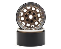 """SSD RC 1.9"""" Contender Beadlock Wheels (Bronze)"""