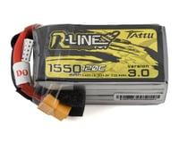"Tattu ""R-Line 3.0"" 4S LiPo Battery 120C (14.8V/1550mAh) (JST-XH)"