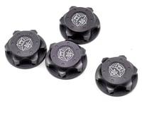 Tekno RC Aluminum 17mm Serrated Fine Thread Wheel Nut (Gun Metal) (4) (XRAY XB8)