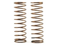 Tekno RC EB48.3 Low Frequency 75mm Front Shock Spring Set (Black - 3.58lb/in)