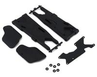 Team Losi 8IGHT XT/XTE Racing XT Rear Arms w/Mud Guards & Inserts (2)