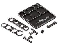 Team Powers Aluminum Parts Tray V3 w/Holder