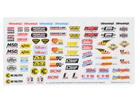 Traxxas E-Revo VXL 2.0 Racing Sponsors Decal Sheet