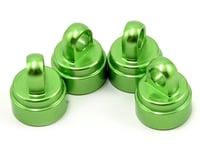 Traxxas Hoss Aluminum Ultra Shock Cap (Green) (4)