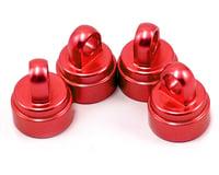 Traxxas Drag Slash Aluminum Ultra Shock Cap (Red) (4)