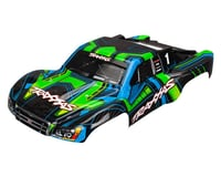 Traxxas Slash 4x4 Body, 4X4, Green And Blue (Painted,