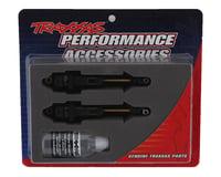 Traxxas Hoss GTR Long Hard Anodized Shocks w/Ti-Nitride Shafts (2)