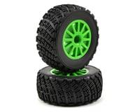 Traxxas Rally BFGoodrich Tire w/Rally Wheel (2) (Green)