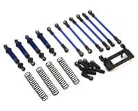 Traxxas TRX-4 Complete Long Arm Lift Kit (Blue)