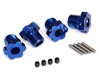 Traxxas E-Revo VXL 2.0 17mm Splined Wheel Hub Hex (Blue) (4)