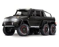 Traxxas TRX-6 1/10 6x6 Trail Crawler Truck w/Mercedes-Benz G 63 AMG Body (Black)