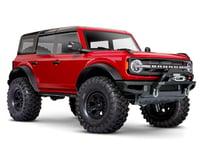 Traxxas TRX-4 1/10 Trail Crawler Truck w/2021 Ford Bronco Body (Red)