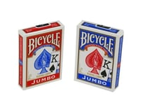 United States Playing Card Company US Playing Card Company 1004560 Bicycle Poker Size Jumbo Index Playing Cards (Red or