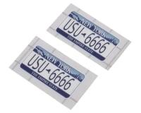 Usukani 3D License Plate Sticker (USU-6666) (2)