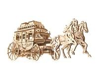 UGears Stagecoach Wooden 3D Model