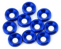 V-Force Designs 3mm Countersunk Washers (Blue) (10)