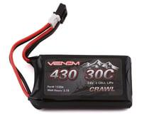 Venom Power Axial SCX24 2S 30C LiPo Battery (7.4V/430mAh)