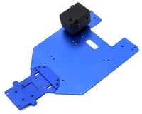 Vetta Racing Karoo Aluminum Chassis Plate w/Receiver Case (Blue)